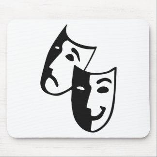 Masks Mouse Pad