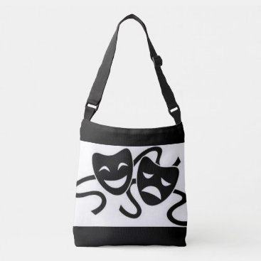 malhcreations Masks of Drama Crossbody Bag
