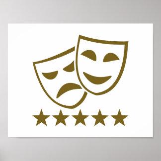 Masks stars poster