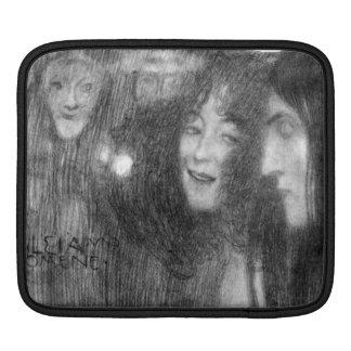 Masks Thalia and Melpomene by Klimt Sleeves For iPads