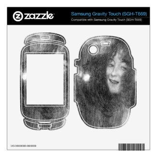 Masks Thalia and Melpomene by Klimt Samsung Gravity Touch Skins