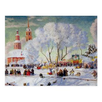 Maslanitsa - vacaciones de invierno de la semana postal