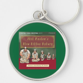 Maslows Bakers Heirchachy Keychain