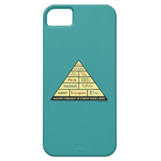Maslows Hierarcy of Student Nurse Needs iPhone 5/5S Cases