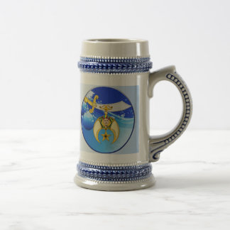 Mason and Shriner Christmas Gifts Beer Stein