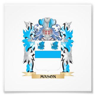 Mason Coat of Arms - Family Crest Photo
