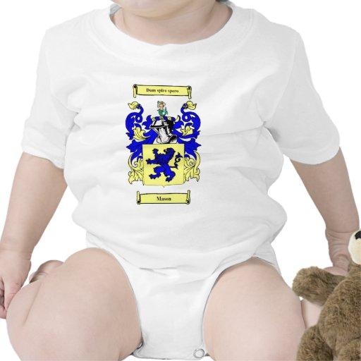 Mason (English) Coat of Arms Tshirts