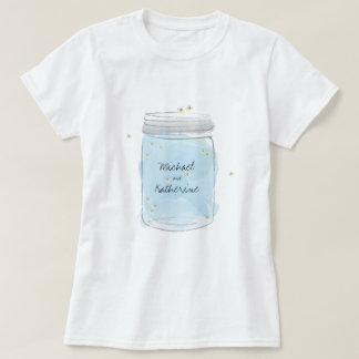 Mason Jar and Fireflies T-Shirt