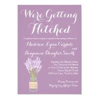 Mason Jar and Lavender Wedding Invitations (<em>$2.15</em>)