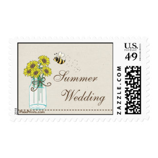 Mason Jar Arrangement Postage