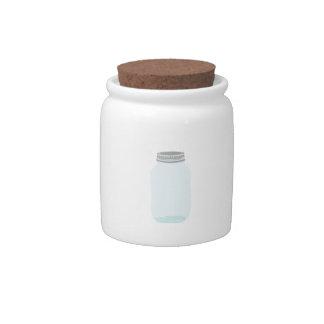 Mason Jar Candy Jar