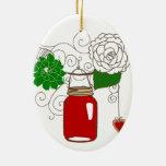 Mason Jar Christmas Ornament
