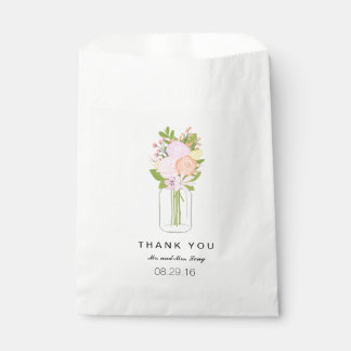Mason Jar Favor Bags   WEDDINGS
