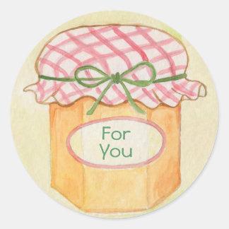 Mason Jar for you sticker