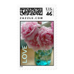 Mason Jar Full of Love Postage Stamps