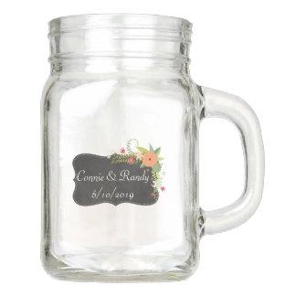 Mason Jar Mug Wedding Present