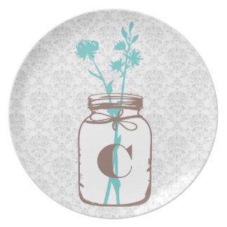 Mason Jar Plates
