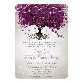 Mason Jar Sangria Heart Leaf Firefly Tree Wedding 5