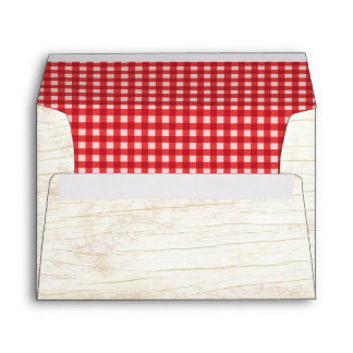 Mason Jar & Sunflowers Rustic Country Wedding Envelope