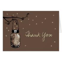 Mason Jar Whimsy Fireflies