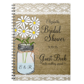 Bridal Shower Notebooks Journals Zazzle