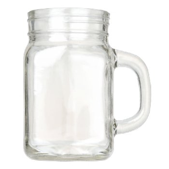 Mason Jar With Handle 12 Oz by creativeconceptss at Zazzle