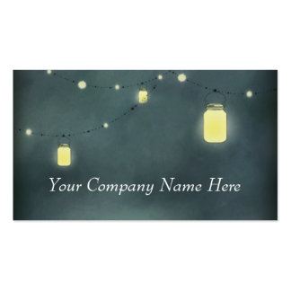 Mason Jars Discount Promotional Punch Card Double-Sided Standard Business Cards (Pack Of 100)