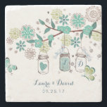 """Mason Jars Garden Wedding 