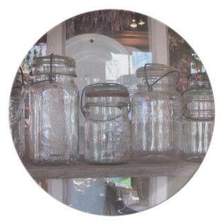 Mason Jars Plate
