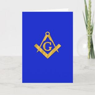 Mason - Masonic Blue Card