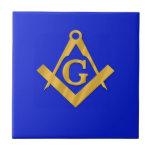 Mason - Masonic Blue Ceramic Tiles