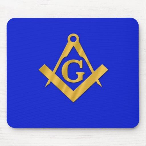 Mason - Masonic Blue Mouse Pads