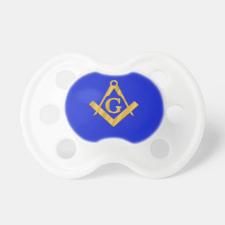 Mason - Masonic Blue Pacifier