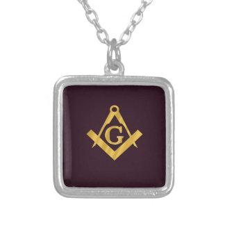 Mason Masonic Product on Brown Custom Jewelry