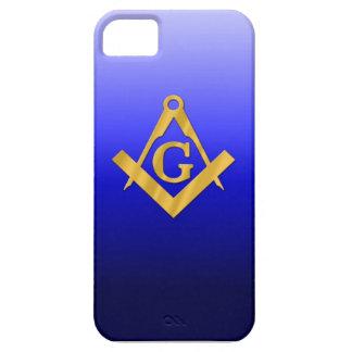 Mason Masonic with Gradient Blue iPhone 5 Case
