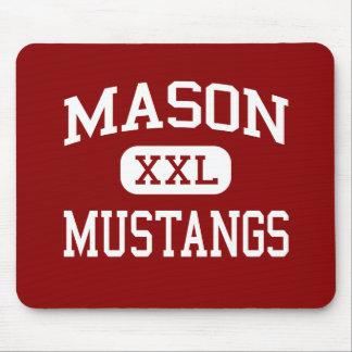 Mason - Mustangs - Middle - Tacoma Washington Mouse Pad