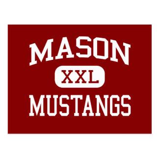 Mason - Mustangs - Middle - Tacoma Washington Post Cards