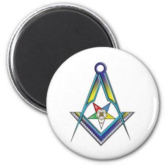 Mason OES 2 Inch Round Magnet