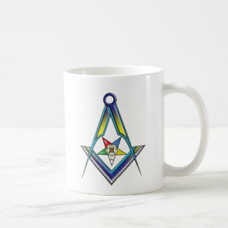 Mason OES Classic White Coffee Mug