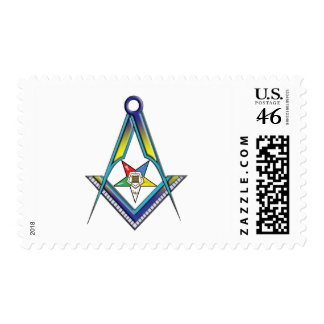Mason OES Stamp