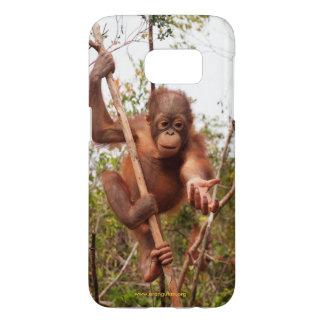 Mason Orangutan in Borneo OFI Samsung Galaxy S7 Case