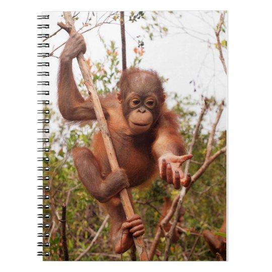 Mason Orangutan - Lend Me a Hand Notebook