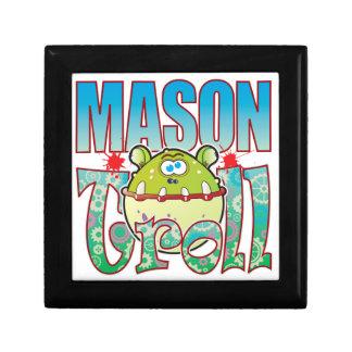 Mason Troll Keepsake Box