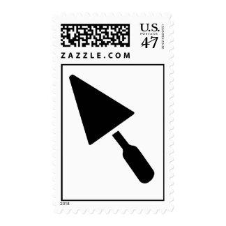 Mason trowel postage stamp
