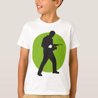 mason with drill hammer T-Shirt