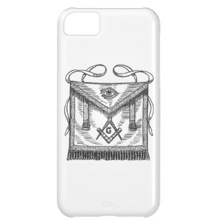 Masonic Apron Cover For iPhone 5C