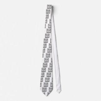 Masonic Apron Neck Tie