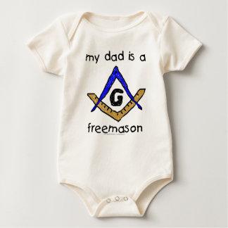 Masonic Baby - Organic Baby Creeper