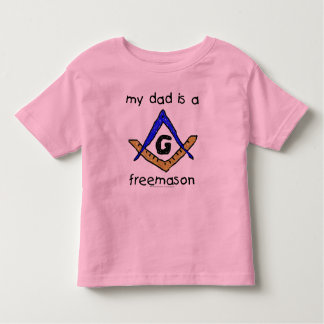 Masonic Baby - Toddler Ringer Toddler T-shirt
