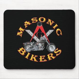 Masonic Bikers Mouse Pad